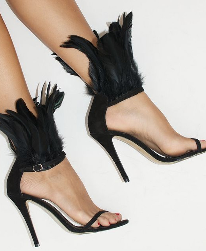 feather-heels